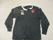 Leyton Orient GL Puma black football training jumper top adult size not shirt
