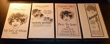 (4) VHS Lot >>> CLARA BOW My Lady Of Whims/Dancing Mothers/Free To Love/Mantrap