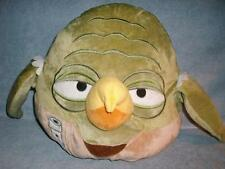 "Yoda Large 12"" Plush Pillow Star Wars Angry Birds Rovio 2013 used"