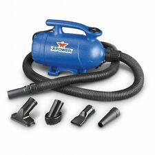XPOWER 2 HP 2-Speed 2-in-1 Pet Dryer and Vacuum B2, Pet Dog Cat Horse Grooming