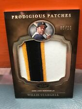 2012 Topps Tier One Prodigious Patches Willie Stargell #'d 10
