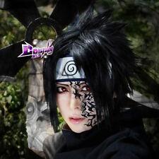 Uchiha Sasuke Black 14'' Short Layered Anime Cosplay Wig Hot Sell Popular