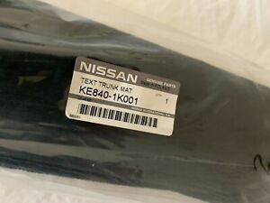 Genuine Nissan Luxury Tailored Carpet Luggage Boot Mat Liner Juke KE8401K001