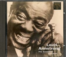RARE --LOUIS ARMSTRONG--THE ESSENTIAL SATCHMO CD COMPIL 18 TITRES JAZZ