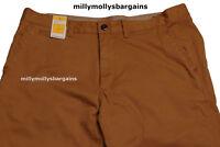 New Mens Marks & Spencer Orange Slim Fit Chino Trousers Waist 38 Leg 31