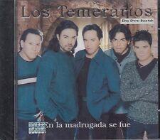 Los Temerarios En La Madrugada Se Fue CD Nuevo Sealed