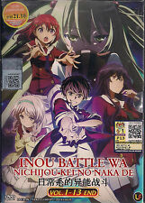 Inou Battle Wa Nichijou-Kei no Naka De Vol. 1 - 13 End Japanese Anime DVD