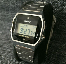 CASIO VINTAGE COLLECTION A158WEAD-1EF SILVER NATURAL DIAMONDS BRAND NEW