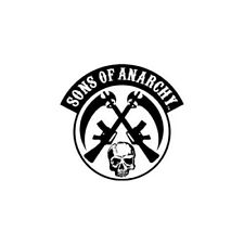 Sons of Anarchy Crossed Skull And Gun Patch