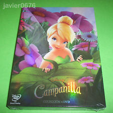 CAMPANILLA COLECCION 4 PELICULAS EN DVD PACK NUEVO Y PRECINTADO