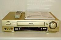 JVC HR-S7500 High-End S-VHS Videorecorder, inkl. FB&BDA, 2 Jahre Garantie