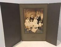 Antique Photo In Cabinet Card From Early 1900's Rare Excellent Condition 6of14