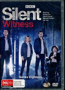 Silent Witness Series Eighteen 18 DVD NEW Region 2,4