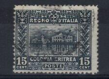Eritrea 1910-1914 Soggetti Africani valore 15 centesimi usato