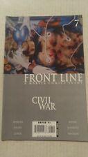 Civil War Frontline #7 November 2006 Marvel Comics Jenkins Bachs Lieber Weeks