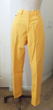 Vintage Polo Country Ralph Lauren James Bright Yellow 100% Cotton Jeans 31 x 32