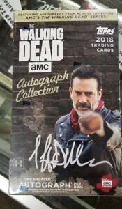 The Walking Dead 2018 Topps Autograph Collection Factory Sealed Box