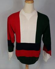 Vintage 90s Tommy Hilfiger Crest Color Block Hip Hop Sailing Sweater Shirt L