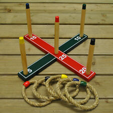 Selections Deluxe Quoits Garden Ring Toss Game