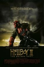 HELLBOY 2 THE GOLDEN ARMY MOVIE POSTER 2 Sided ORIGINAL FINAL 27x40 RON PERLMAN