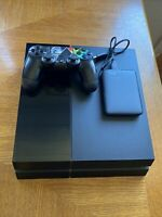 Sony PlayStation 4 PS4 500GB Console + CONTROLLER + 2TB HARD DRIVE