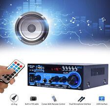 300W+300W 2Channel Hifi Power Stereo Audio Amplifier Bluetooth USB FM AK-550