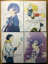 PERSONA 3 The Movie Limited Edition Blu-ray Complete #1-4 SET Anime used