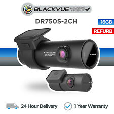 Blackvue DR750S-2CH 16GB Front & Rear Car Dash Cam Camera With Wifi GPS Full HD