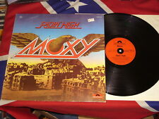 MOXY - ridin' high  LP 1977  POLYDOR 2480402