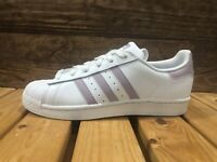 adidas Superstar Sneakers - Women's Mismatched Shoe Sizes - R 6 / L 6.5 DB3347