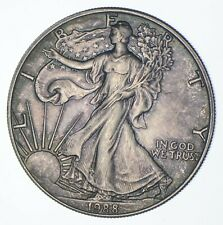 Better Date 1988 American Silver Eagle 1 Troy Oz .999 Fine Silver *648