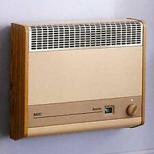 Baxi Brazilia F 8S Wall Hung Gas Fired Heater - available, mahogany, oak, beige
