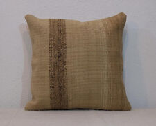 16''x16'' Kilim Pillow Cream Pillow Cushion Cover Handmade Cushion,Decorative