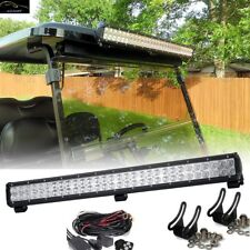 "32"" Roof Mount LED Light Bar + Wiring For 2011 Club Car Precedent Gas Golf Cart"