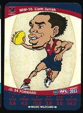2011 Teamcoach Magic Wildcard Liam Jurrah Melbourne Demons Team Coach wild card