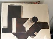 POL BURY RARE WOODCUT PRINT #13 of 50 SIGNED NUMBERED MID-CENTURY MODERN ART