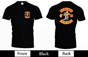 Bandidos Motorcycle Club United States MC Tee T-Shirt USA Size S M L XL 2XL 3XL