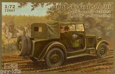 Véhicule Polonais FIAT POLSKI 508/III LAZIK  - KIT IBG Models 1/72 n° 72007