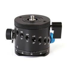 FITTEST 55mm Panoramic Head Panorama Click Indexing Rotator For Camera Tripod