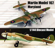 Martin Model 167 Maryland Medium Bomber 1:144 diecast Aircraft plane Model