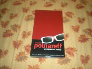 COFFRET 3 CD LIVRET MICHEL POLNAREFF LES PREMIERES ANNEES 60 TITRES REMASTERISES