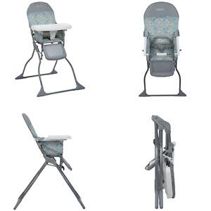 Asiento De Silla Alta Para Bebé Plegable Bandeja Ajustable De Tamaño Completo