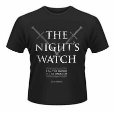 Game Of Thrones 'THE NIGHT'S WATCH' T-Shirt - NEW & OFFICIAL! SALE!!