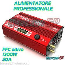 ALIMENTATORE PROGRAMMABILE SkyRC efuel V2 1200W 50A 15V-30V PFC ATTIVO SK-200015