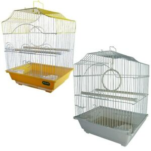 HERITAGE CORFE BIRD CAGE 30x23x39CM FINCH BUDGIE CANARY HOME PET BIRDS SMALL✔