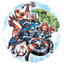 INFINITY WAR Vengadores Globo metalizado Thor Viuda Negra Capitán América Hulk