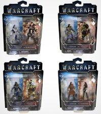 Warcraft Mini Figure 2-pack Lot Lothar Garona Durotan Horde & Alliance Warriors