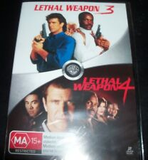 Lethal Weapon 3 & 4 (Mel Gibson Danny Glover)(Australia Region 4) DVD – New