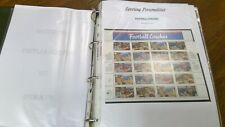 More details for usa sport personalities on stamps descriptive pages album fv $115 £95