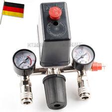 Druckregler mit Druckschalter f Kompressor Druckwächter Kompressorschalter